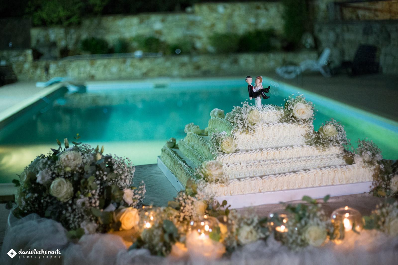 Torta Nuziale - Matrimonio a Carbonia - Ristorante Tanit - Ristorante a Carbonia dal 1981 - 4