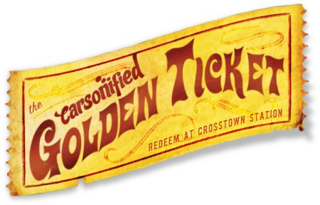 Carsonified Golden Ticket