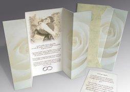 Persoonlijke trouwkaart