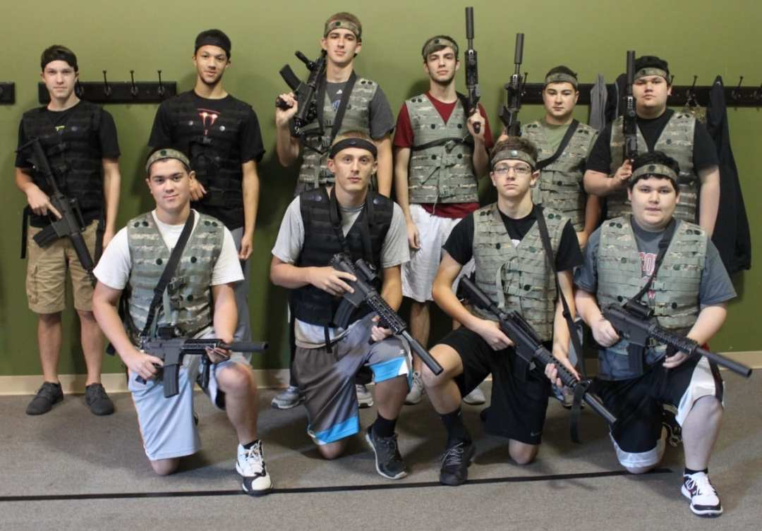 tank america A Different Caliber of Laser Tag challange