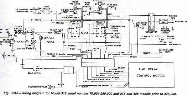 diagram john deere 7 pin plug wiring diagram full version