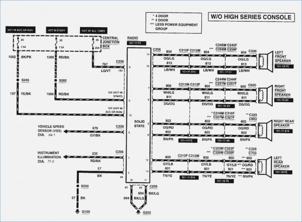 ford explorer wiring diagram radio full hd quality version