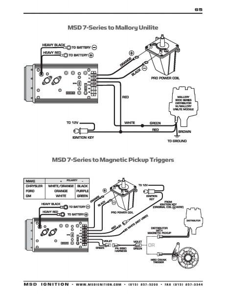 diagram msd 6al wiring diagram comp 9000 mallery full