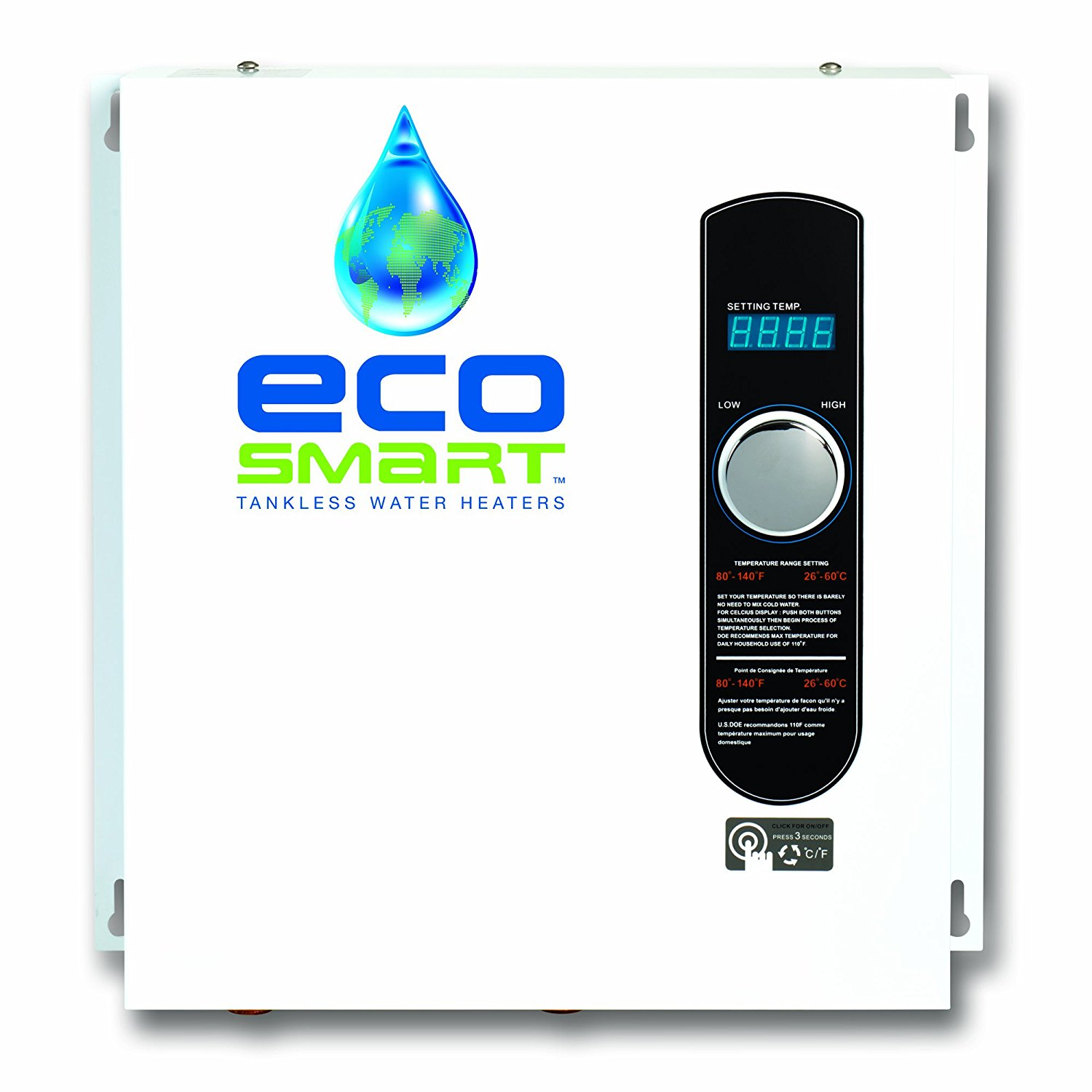 Ecosmart ECO 24 24 KW at 240-Volt Electric Tankless Water Heater