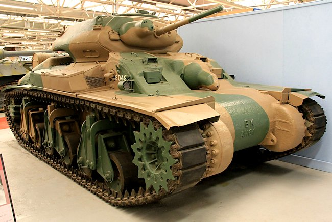 Australian Cruiser Tank AC1 Sentinel at the Tank Museum Bovington, England