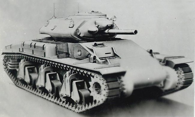 Artists rendition of the AC III tank