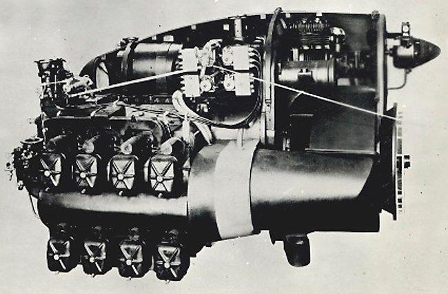 gypsy major engine mock-up