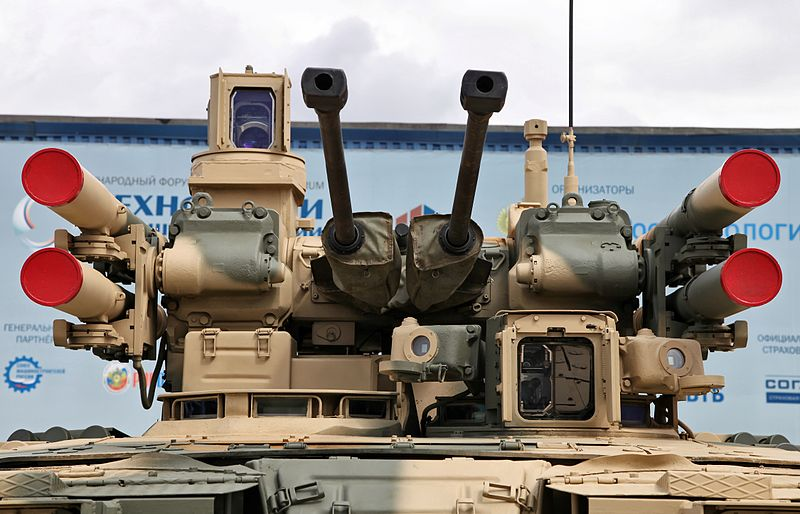 BMPT_turret_at_Engineering_Technologies_2012