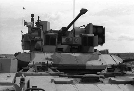 Original BMPT model with one 30mm autocannon and older ATGMs.