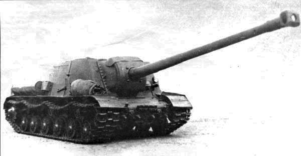 Object 250 (ISU-130) with the 130 mm S-26