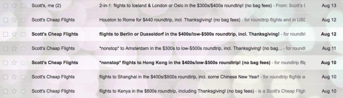Scott's Cheap Flights Review 2
