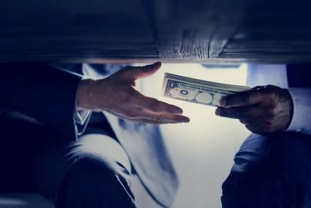 is bribery illegal