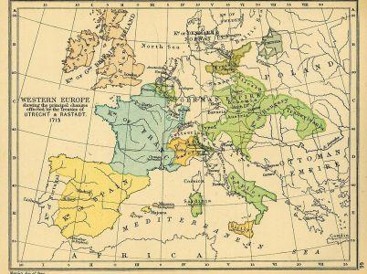 Il principio dell'«equilibrio» nell'Europa del '700.