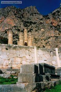 Delfi -Tempio di Apollo, particolare