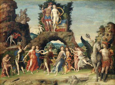 Il Parnaso nella mitologia greca