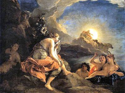Apollo, Leucotoe e Clizia