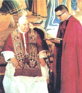 L'incontro fra Papa Giovanni XXIII ed un alieno