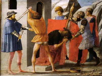 29 agosto, memoria del Martirio di San Giovanni Battista