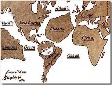 Mu, uno dei continenti perduti