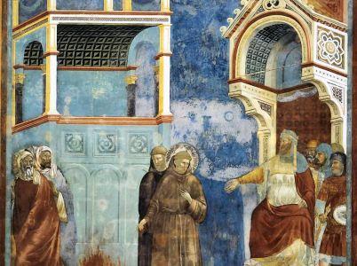Francesco e il feroce Saladino