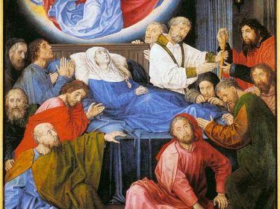 Morte e trasfigurazione della Vergine-Madre