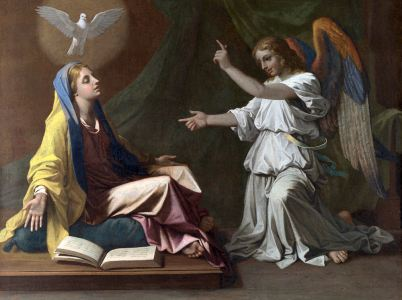 L'Annunciazione vista attraverso la pittura