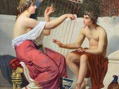 Calliope, la musa dell'epica e dell'eloquenza