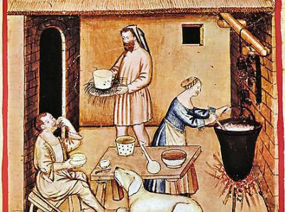Il formaggio tra leggenda, mitologia e storia