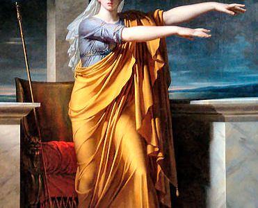 Polimnia, la musa protettrice dell'orchestica
