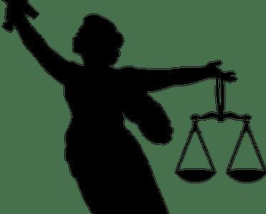 Temi (o Thémis), la personificazione della giustizia