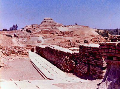 Mohenjo-daro, il monte dei morti
