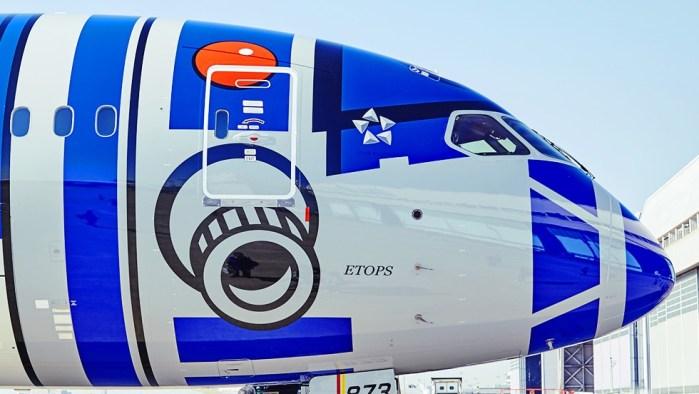 ANA et ses avions Star Wars