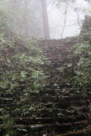 NB : cet escalier historique est désaffecté