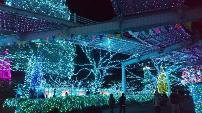 Yomiuriland by night