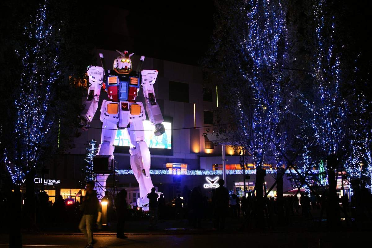 Décorations de Noël à Tokyo - Partie 1 - Ebisu, Odaiba, Yokohama