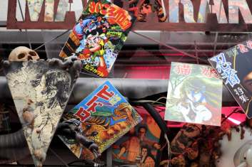Enseigne mangas old-school