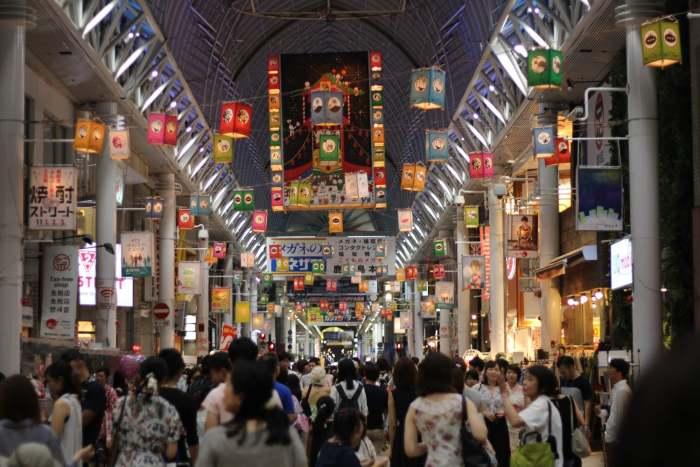 Kagoshima, lantern festival et Okonomiyaki!