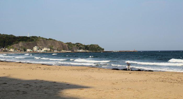 Onjuku, sa plage, ses dromadaires