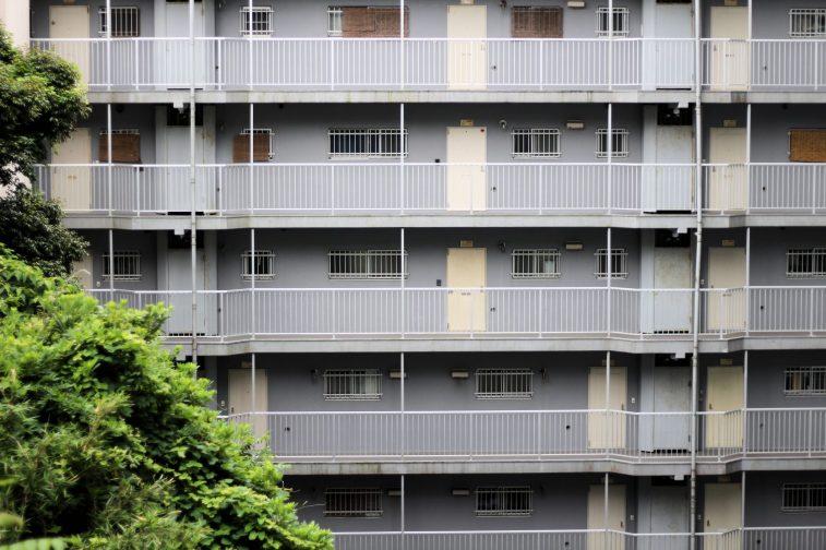 Immeuble caché