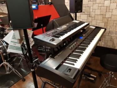 Synthés (pas dans tous les studios)
