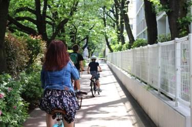 De Takadanobaba à Koenji à vélo (2)