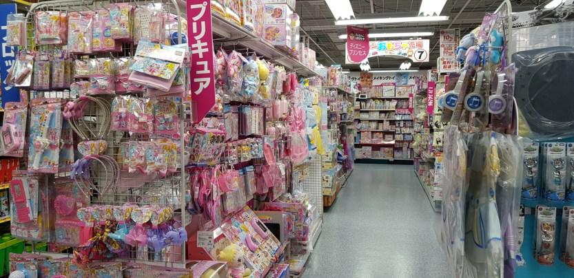 Magical Girls et autres accessoires roses