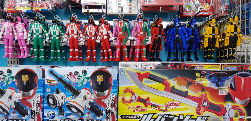 Figurines Super Sentai