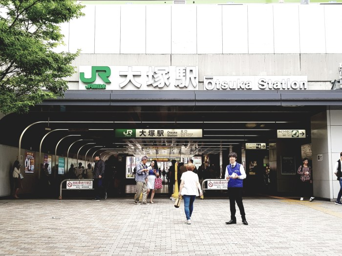 Le tour de Tokyo à vélo, en suivant la ligne Yamanote