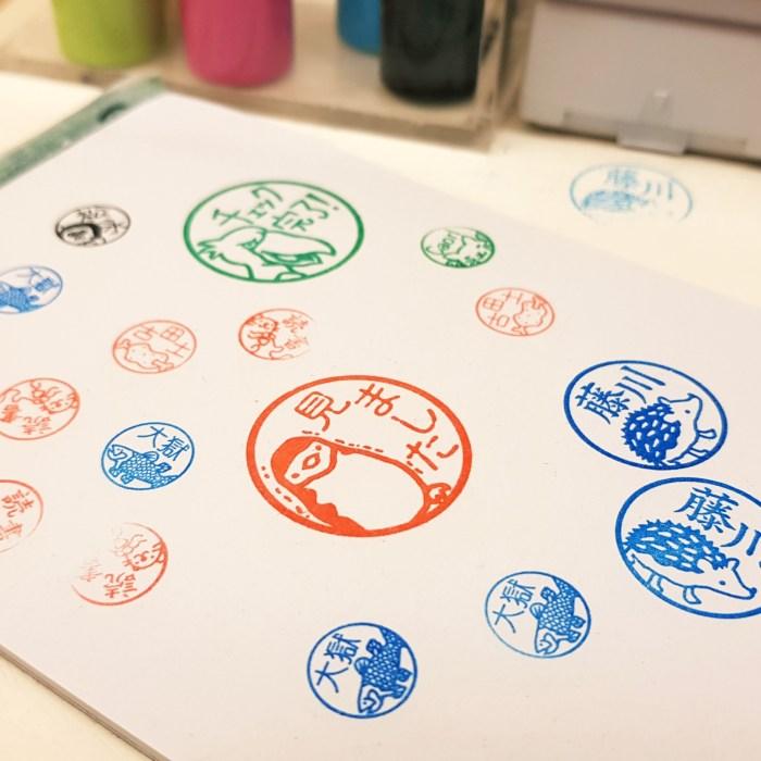 Un souvenir japonais original: le hanko, tampon de signature personnalisé
