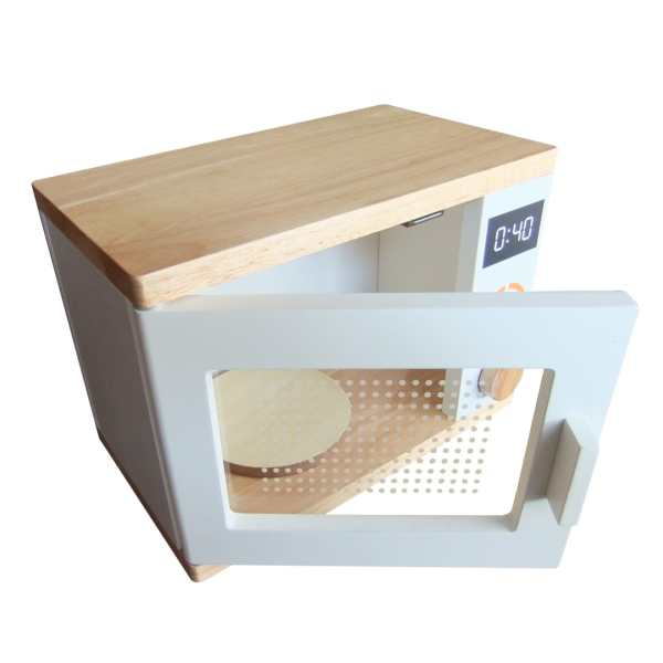 Wooden Microwave 4