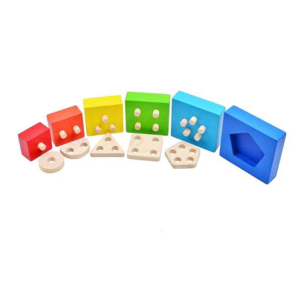 3 in 1 Rainbow Sort & Stacking 3