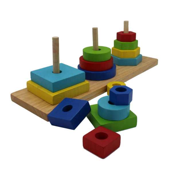 3 Shape Stacking 3