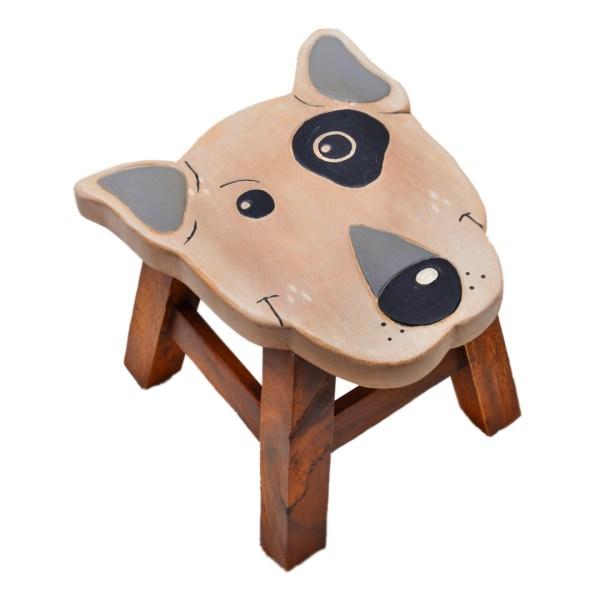 Bull Terrier Stool 1