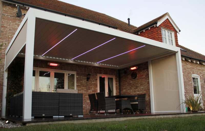 veranden infrarotstrahler terrasse